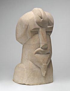 Henri Gaudier-Brzeska Hieratic Head of Ezra Pound 1914