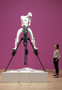 Jacob Epstein Rock Drill 1913-15 recreated 1973-74