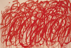 Cy Twombly Bacchus 2006