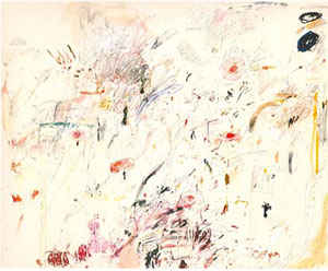 Cy Twombly Empire of Flora 1961