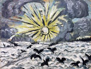 Otto Dix Sunrise 1913