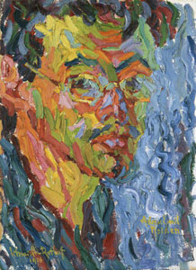 Karl Schmidt-Rottluff Self-Portrait 1906
