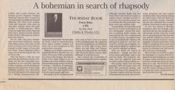 A bohemian in search of rhapsody