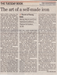 December 2002 The art of a self made icon