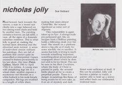 Nicholas Jolly