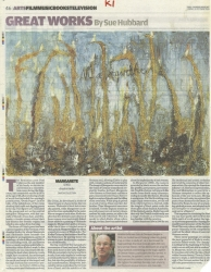 October 2008 Great Works Margarete by Anselm Kiefer