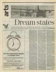 August 2005 Dream States