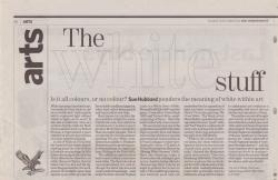 December 2005 The white stuff