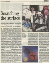 May 2003 Scratching the surface