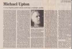 October 2002 Michael Upton Obituary