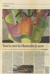 September 2002 Youre not in Shoreditch now
