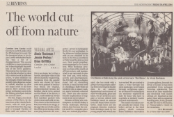 April 2004 The world cut off from nature