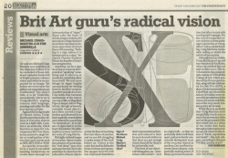 December 2007 Brit Art gurus radical vision