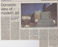 March 2004 Domestic view of modern art