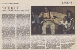March 2004 Spotlight Annie Leibovitzs American Music