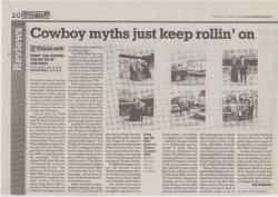 March 2008 Cowboy myths just keep rollin on