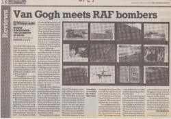 March 2008 Van Gogh meets RAF bombers