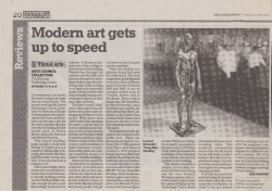 May 2007 Modern art gets up to speed
