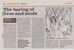May 2009 The baring of lives and souls