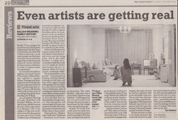 November 2006 Even artists are getting real