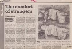 October 2006 The comfort of strangers