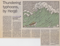 Thundering typhoons by Herge