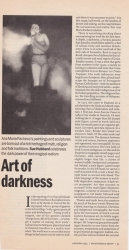 December 1994 Art of darkness