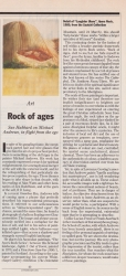 February 1991 Rock of ages