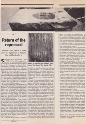 June 1992 Return of the repressed