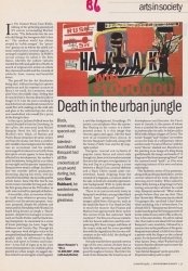 March 1996 Death in the urban jungle