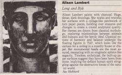 Alison Lambert Long and Ryle