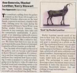 Ana GenovesRachel LowtherKerry Stewart The Approach