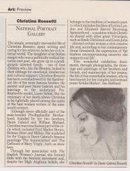 Christina Rossetti National Portrait Gallery