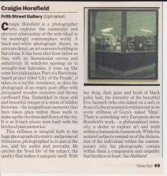 Craigie Horsfield Frith Street Gallery