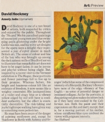 David Hockney Annely Juda