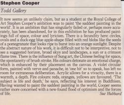 Stephen Cooper Todd Gallery