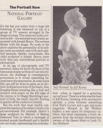 The Portrait Now National Portrait Gallery