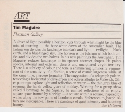 Tim Maguire Flaxman Gallery