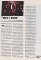 Visions of despair