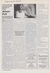 Allison Fell Interview in Everywoman