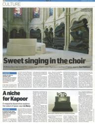 October 2008 Sweet singing in the choir