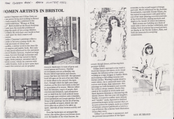 The Green Book 1984 Women Artists in Bristol