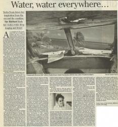 Water water everywhere...