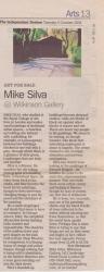 Art for Sale Mike Silva @ Wilkinson Gallery October 2004
