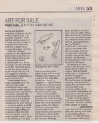 Art for Sale Nigel Hall @ Annely Juda Fine Art