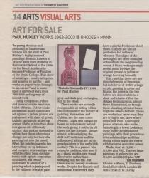 Art for Sale Paul Huxley Works 1963 2003 @ Rhodes Mann