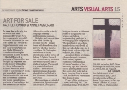 Art for Sale Rachel Howard @ Anne Faggionato November 2003
