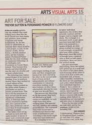 Art for Sale Trevor Sutto Ferdinand Penker @ Flowers East