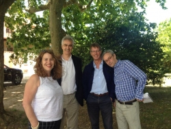 RA press trip to see Kiefer at Barjac South of France