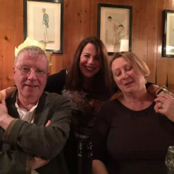 With Hughie and Clare O'Donoghue Christmas Eve